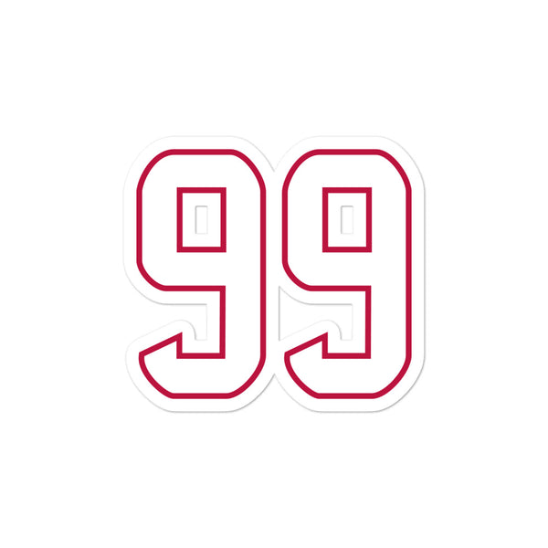 JJ Watt #99 Sticker
