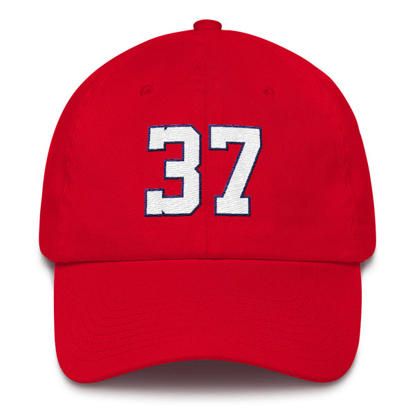 Stephen Strasburg #37 Dad Hat-Player Number Hat-Coverage Gear