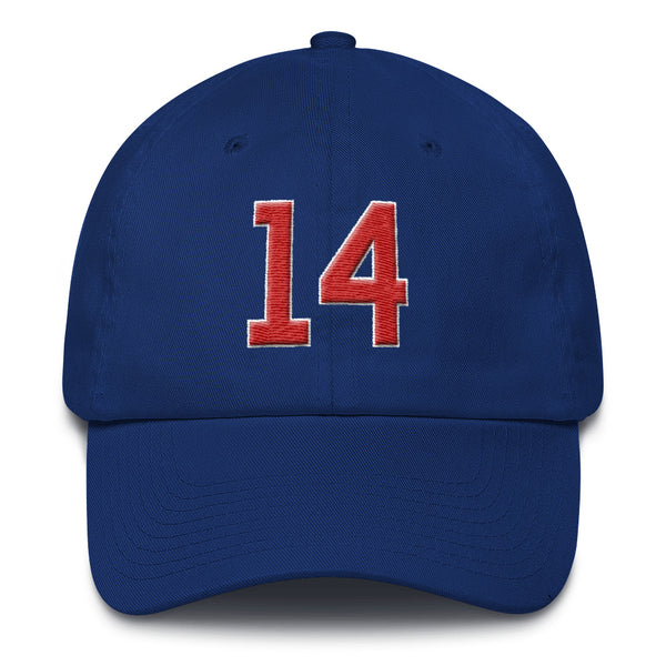 Ernie Banks #14 Dad Hat-Player Number Hat-Coverage Gear