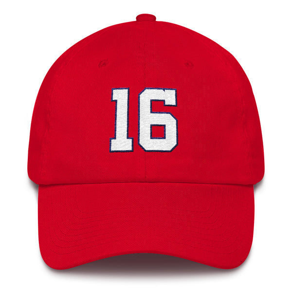 Victor Robles #16 Dad Hat-Player Number Hat-Coverage Gear