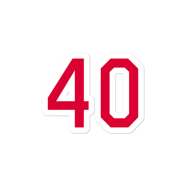 Bartolo Colon #40 Sticker