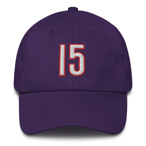 Vince Carter #15 Dad Hat-Player Number Hat-Coverage Gear