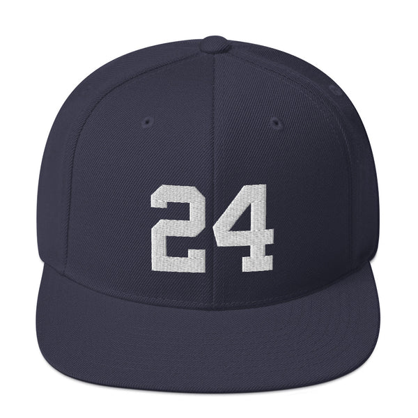Tino Martinez #24 Snapback Hat-Player Number Hat-Coverage Gear