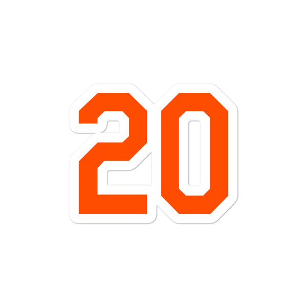 Pete Alonso #20 Sticker