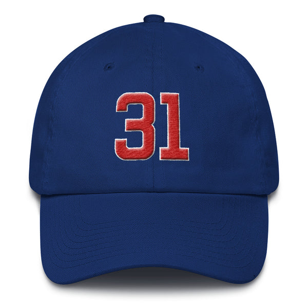 Greg Maddux #31 Dad Hat