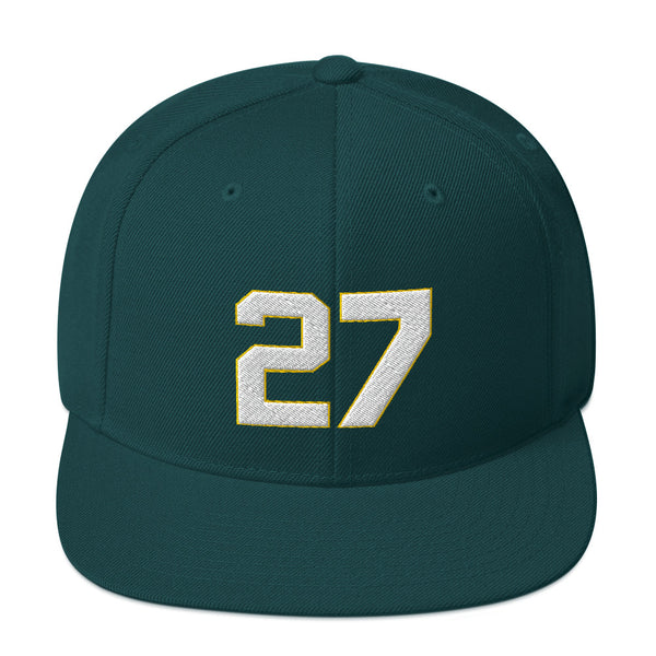 James Hunter #27 Snapback Hat-Player Number Hat-Coverage Gear