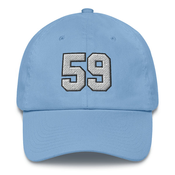 Luke Kuechly #59 Dad Hat-Player Number Hat-Coverage Gear