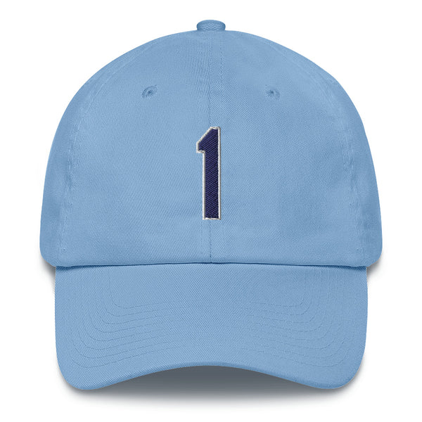 Willy Adames #1 Dad Hat-Player Number Hat-Coverage Gear
