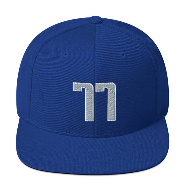 Luka Doncic #77 Snapback Hat-Player Number Hat-Coverage Gear