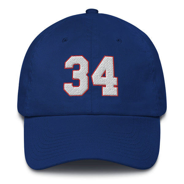 Thurman Thomas #34 Dad Hat-Player Number Hat-Coverage Gear
