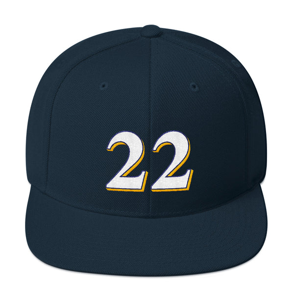 Christian Yelich #22 Snapback Hat-Player Number Hat-Coverage Gear
