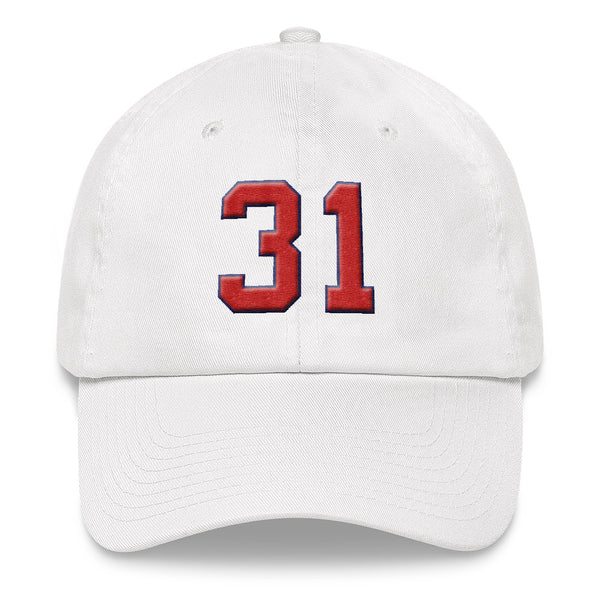 Greg Maddux #31 Dad Hat-Player Number Hat-Coverage Gear