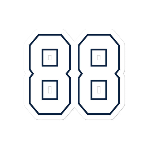 Michael Irvin #88 Sticker