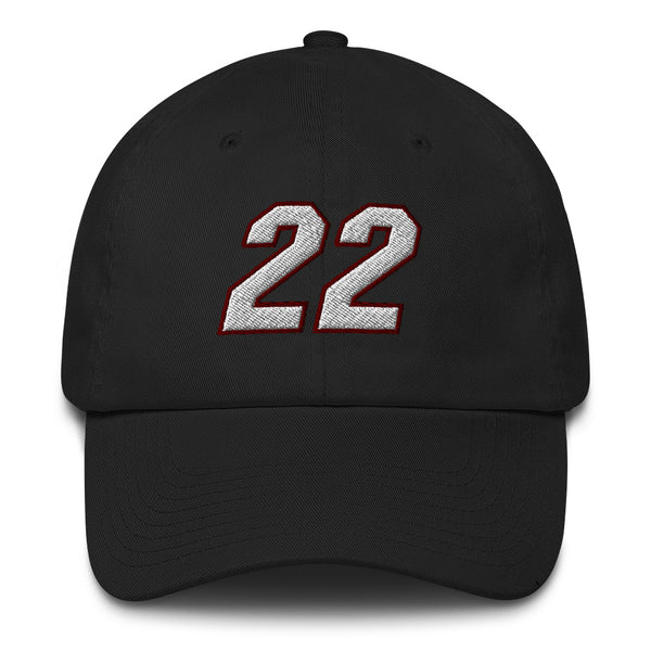 Jimmy Butler #22 Dad Hat-Player Number Hat-Coverage Gear