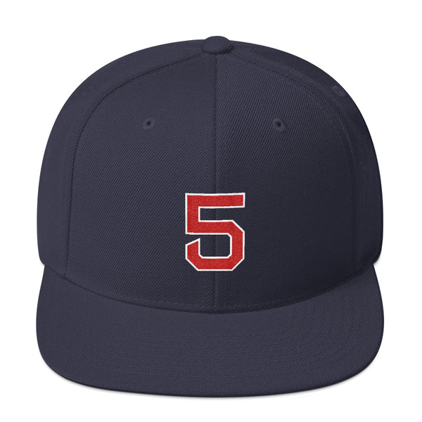 Nomar Garciaparra #5 Snapback Hat-Player Number Hat-Coverage Gear