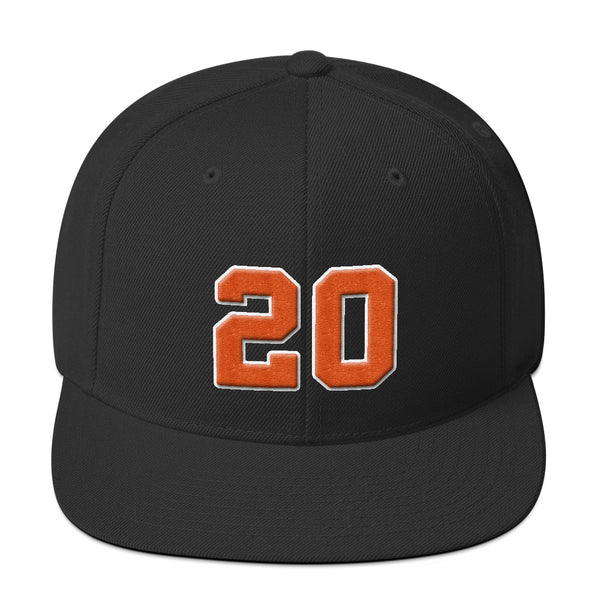 Frank Robinson #20 Snapback Hat-Player Number Hat-Coverage Gear