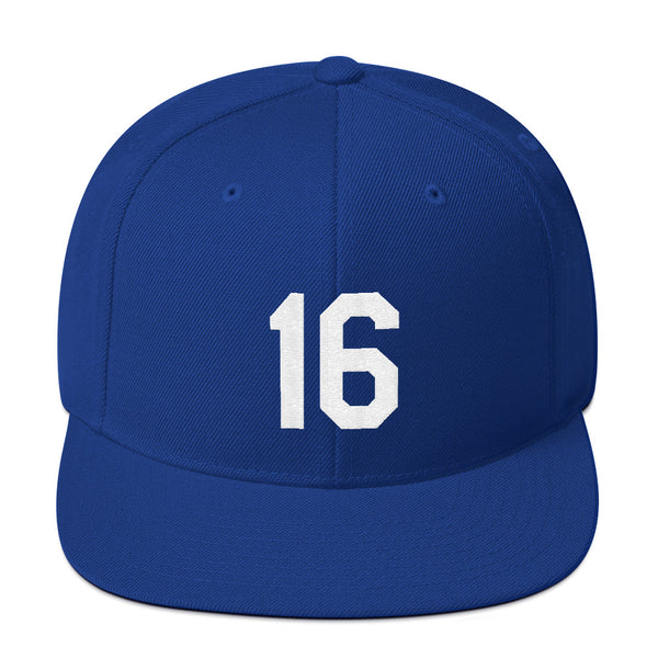 Bo Jackson #16 Snapback Hat-Player Number Hat-Coverage Gear