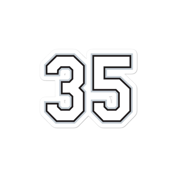 Frank Thomas #35 Sticker