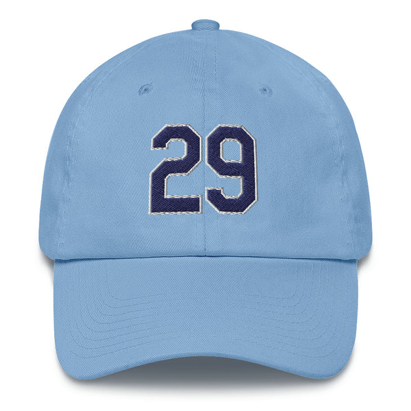 Tommy Pham #29 Dad Hat-Player Number Hat-Coverage Gear
