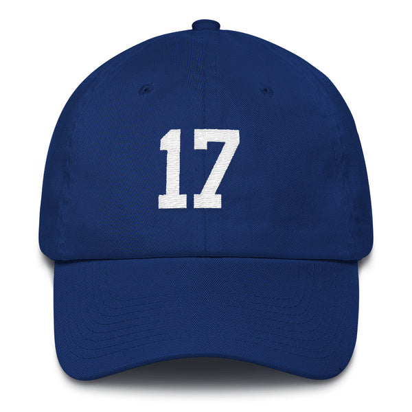 Josh Allen #17 Dad Hat-Player Number Hat-Coverage Gear