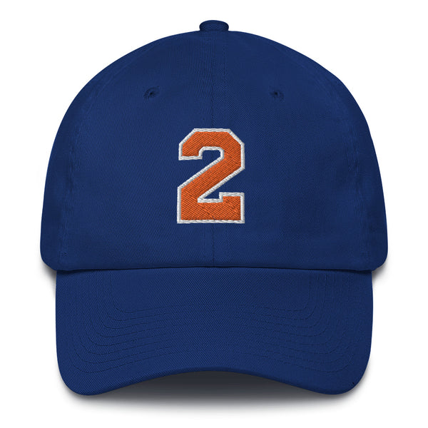 Larry Johnson #2 Dad Hat-Player Number Hat-Coverage Gear