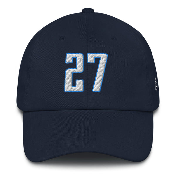 Eddie George #27 Dad Hat