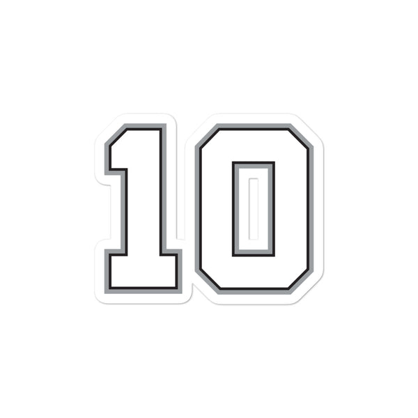 Demar Derozan #10 Sticker