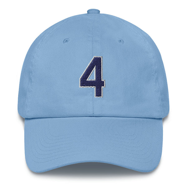 Blake Snell #4 Dad Hat-Player Number Hat-Coverage Gear