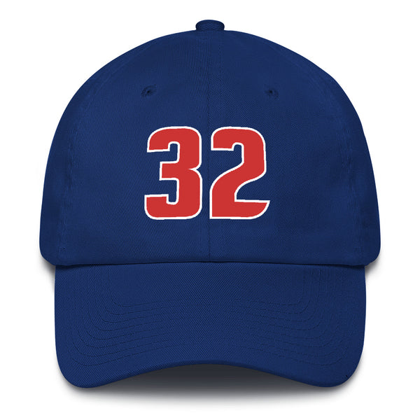 Richard Hamilton #32 Dad Hat-Player Number Hat-Coverage Gear