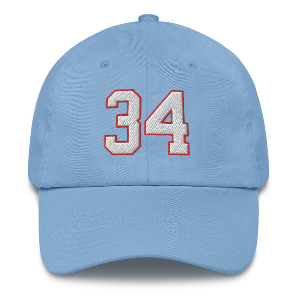 Earl Campbell #34 Dad Hat