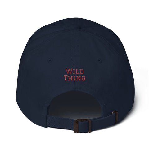 "Rick ""Wild Thing"" Vaughn #99 Dad Hat"