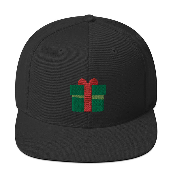 Holiday Present Snapback Hat