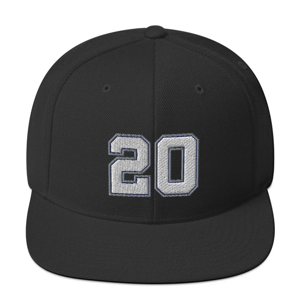Manu Ginobili #20 Snapback Hat-Player Number Hat-Coverage Gear