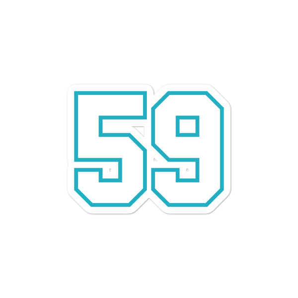 Luke Kuechly #59 Sticker