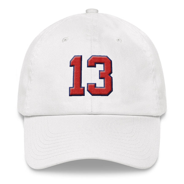 Ronald Acuna Jr. #13 Dad Hat-Player Number Hat-Coverage Gear