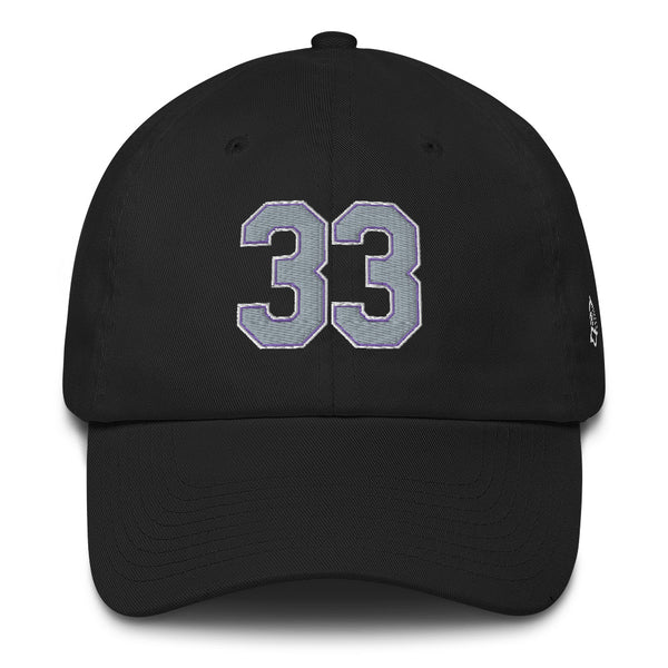 Larry Walker #33 Dad Hat
