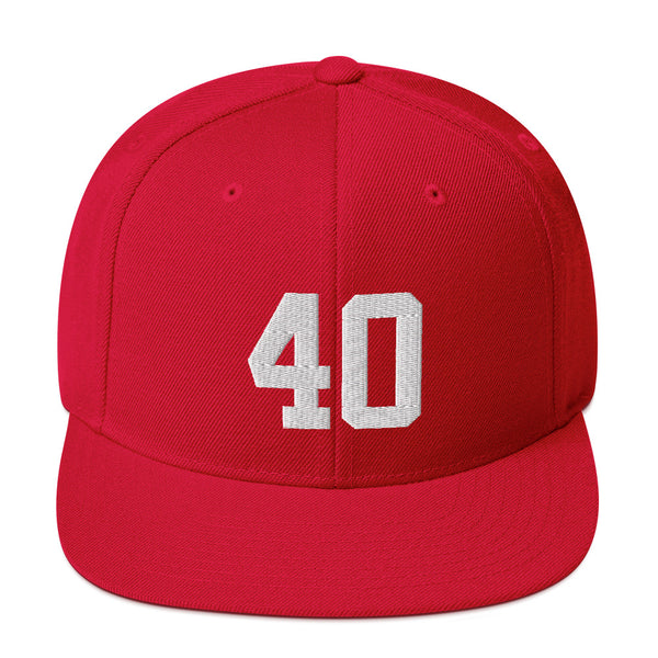 Pat Tillman #40 Snapback Hat-Player Number Hat-Coverage Gear