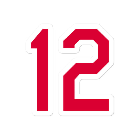 Francisco Lindor #12 Sticker