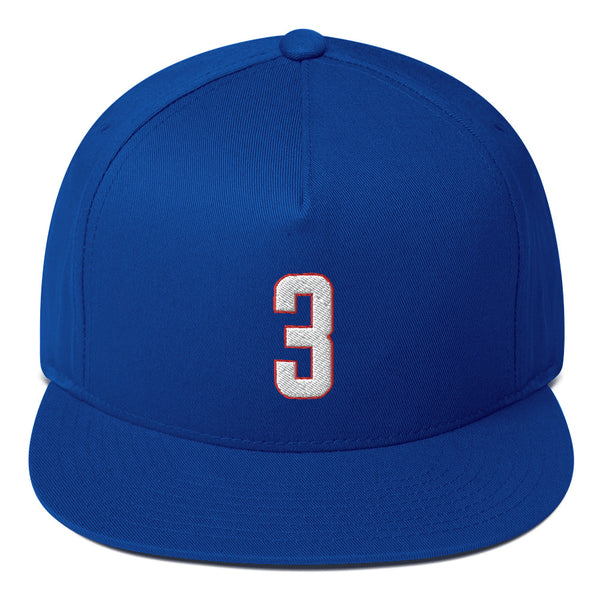Chris Paul #3 Snapback Hat-Player Number Hat-Coverage Gear