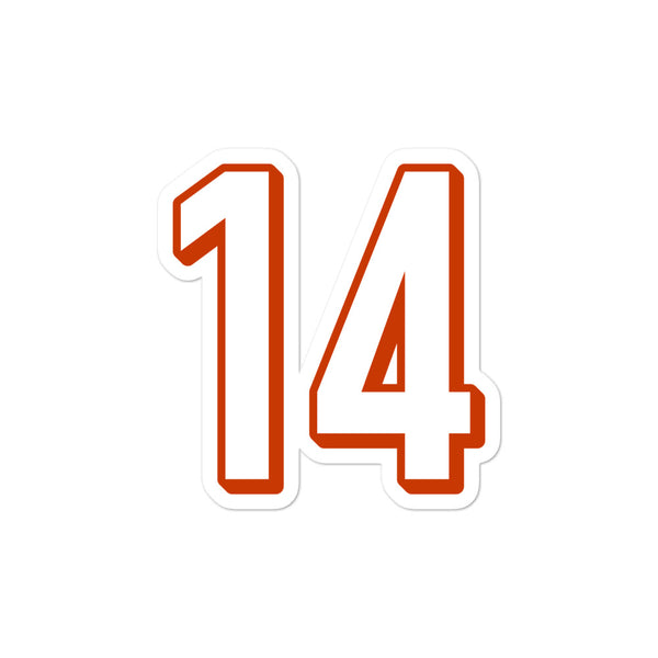 Andy Dalton #14 Sticker