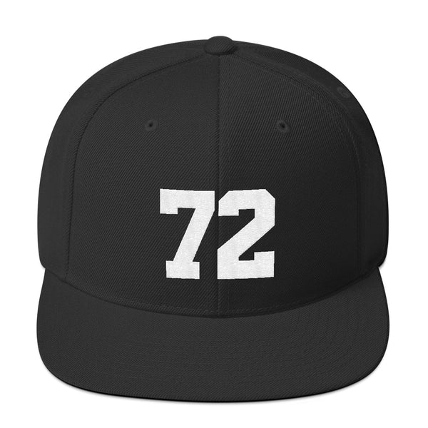 Carlton Fisk #72 Snapback Hat-Player Number Hat-Coverage Gear