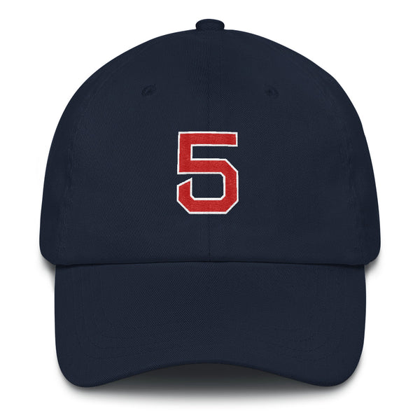 Nomar Garciaparra #5 Dad Hat-Player Number Hat-Coverage Gear