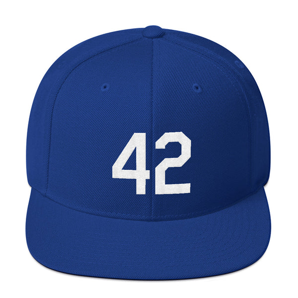 Jackie Robinson #42 Snapback Hat-Player Number Hat-Coverage Gear