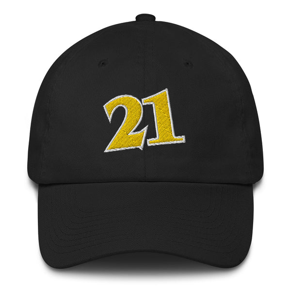 Dominique Wilkins #21 Dad Hat-Player Number Hat-Coverage Gear