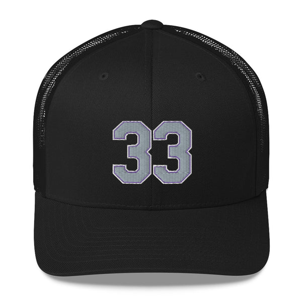 Larry Walker #33 Trucker Cap