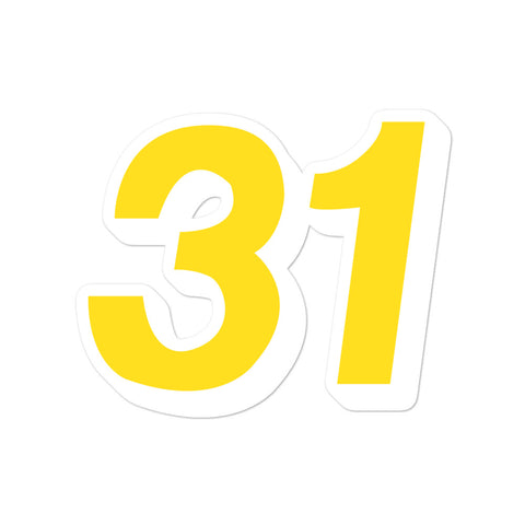 Reggie Miller #31 Sticker
