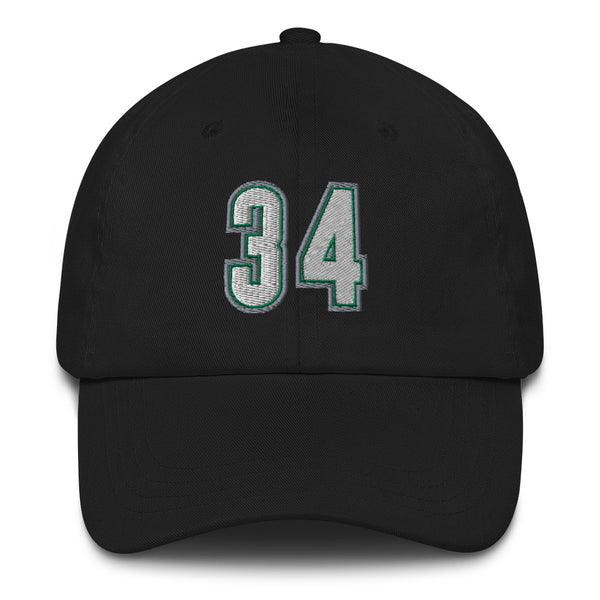 Ray Allen #34 Dad Hat-Player Number Hat-Coverage Gear