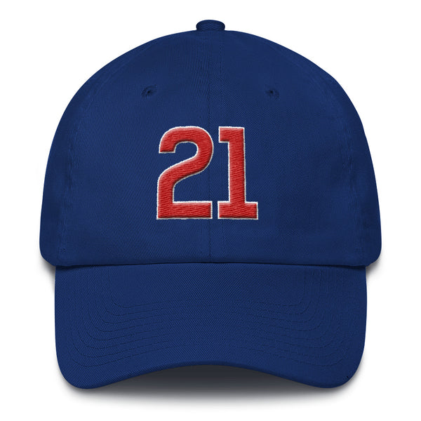 Sammy Sosa #21 Dad Hat-Player Number Hat-Coverage Gear