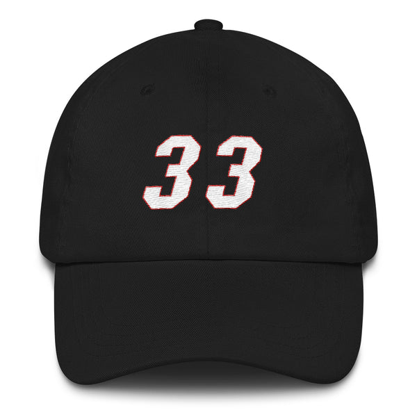 Alonzo Mourning #33 Dad Hat-Player Number Hat-Coverage Gear