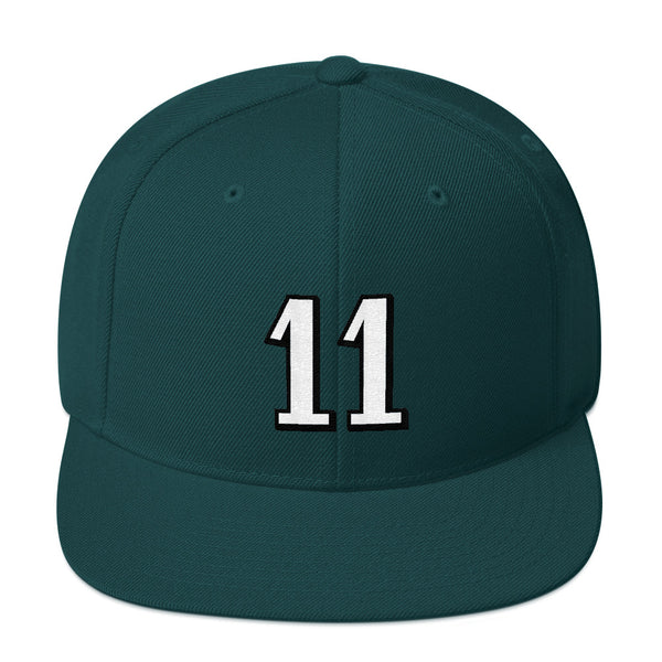 Carson Wentz #11 Snapback Hat-Player Number Hat-Coverage Gear